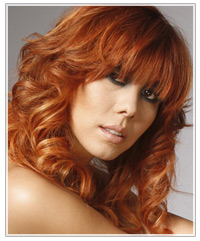 On trend hair color